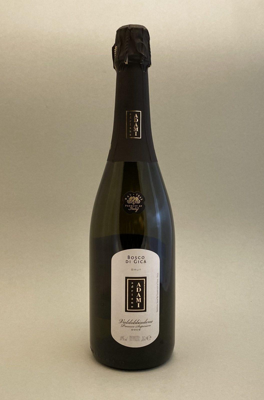 ADRIANO ADAMI Bosco Di Gica Prosecco Brut, Bulbinkove vino, vinotéka Bratislava Slnecnice, Sunnywines, rozvoz vina, winebar