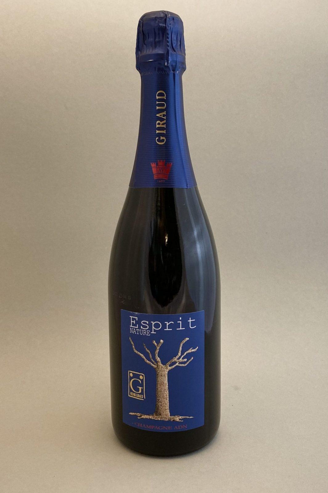 HENRI GIRAUD Esprit Champagne Brut Nature, Bulbinkove vino, vinotéka Bratislava Slnecnice, Sunnywines, rozvoz vina, winebar