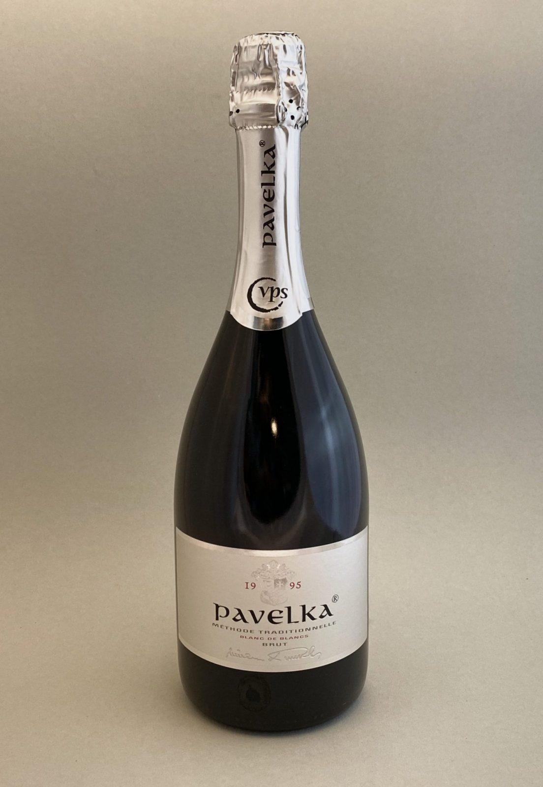 PAVELKA Blanc De Blancs, Bulbinkove vino, vinotéka Bratislava Slnecnice, Sunnywines, rozvoz vina, winebar