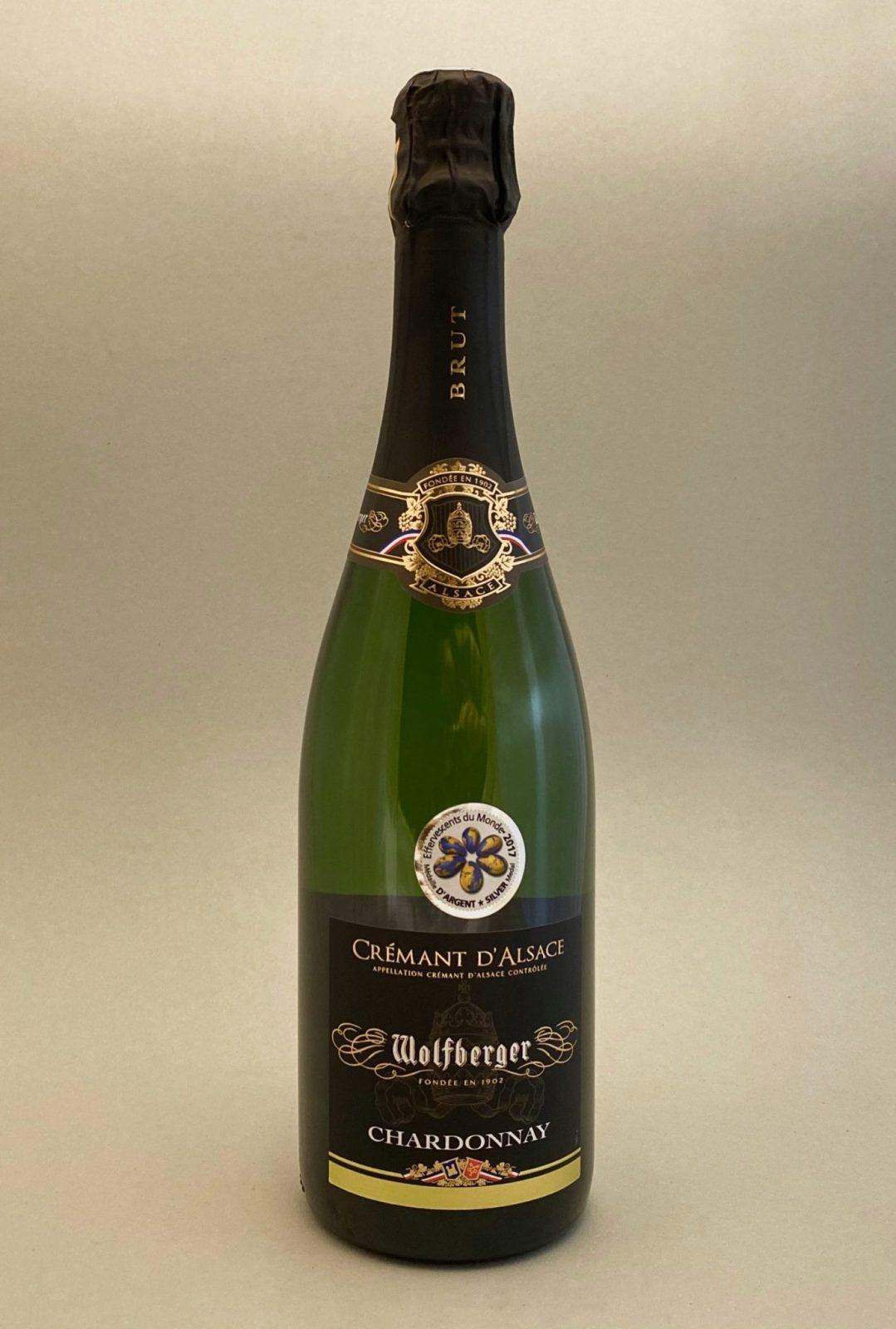Bulbinkove vino, vinotéka Bratislava Slnecnice, Sunnywines, rozvoz vina, winebar, WOLFBERGER Crémant D'Alsace Chardonnay Brut