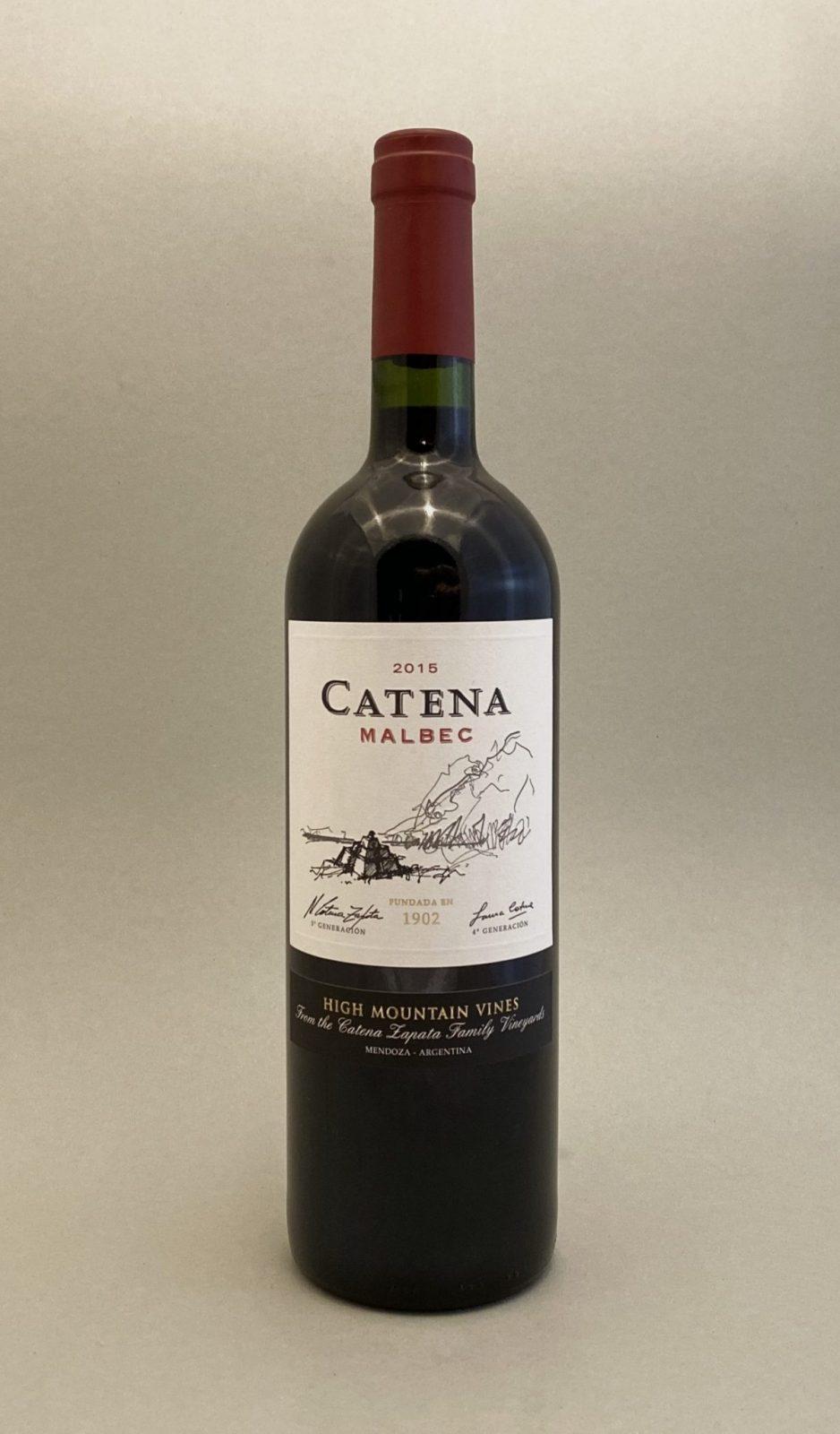 CATENA - Malbec 2015, vinoteka slnecnice Bratislava mesto, petrzalka, vino cervene z Argentiny