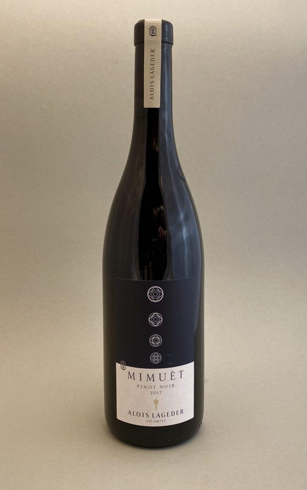 ALOIS LAGEDER Pinot Noir Mimuet Biodynamic 2017, vinoteka Bratislava Sunny wines slnecnice mesto, petrzalka, vino červené z Talianska, rozvoz vín, eshop