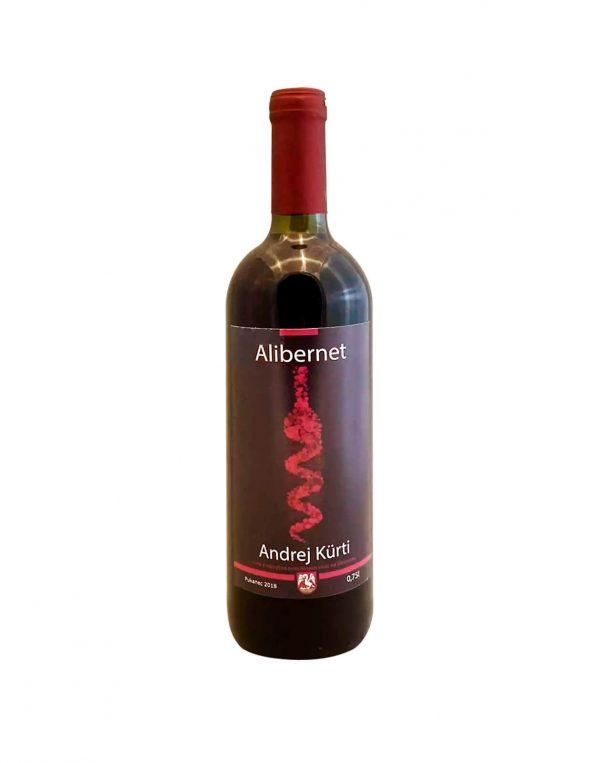 ANDREJ KURTI Alibernet 2018, vinotéka v Slnečniciach, slovenské červené víno, Bratislava Petržalka, Sunny Wines