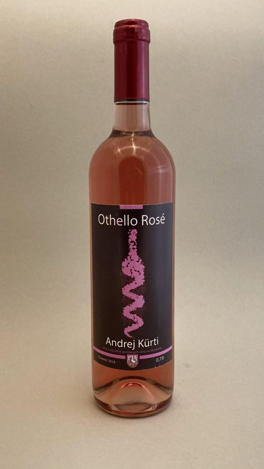 ANDREJ KURTI Othello Rosé 2019, vinotéka v Slnečniciach, slovenské ružové víno, Bratislava Petržalka, Sunny Wines