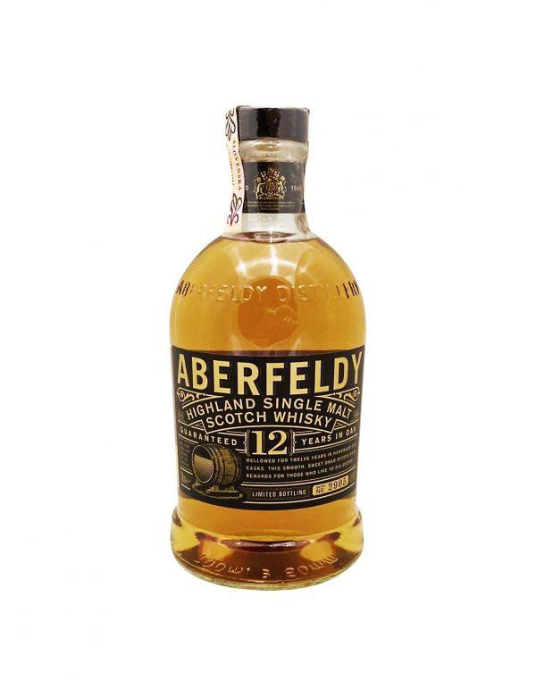 Aberfeldy 12 YO 40%, Bottleshop Sunny wines slnecnice mesto, petrzalka, Škótska Whisky, rozvoz alkoholu, eshop