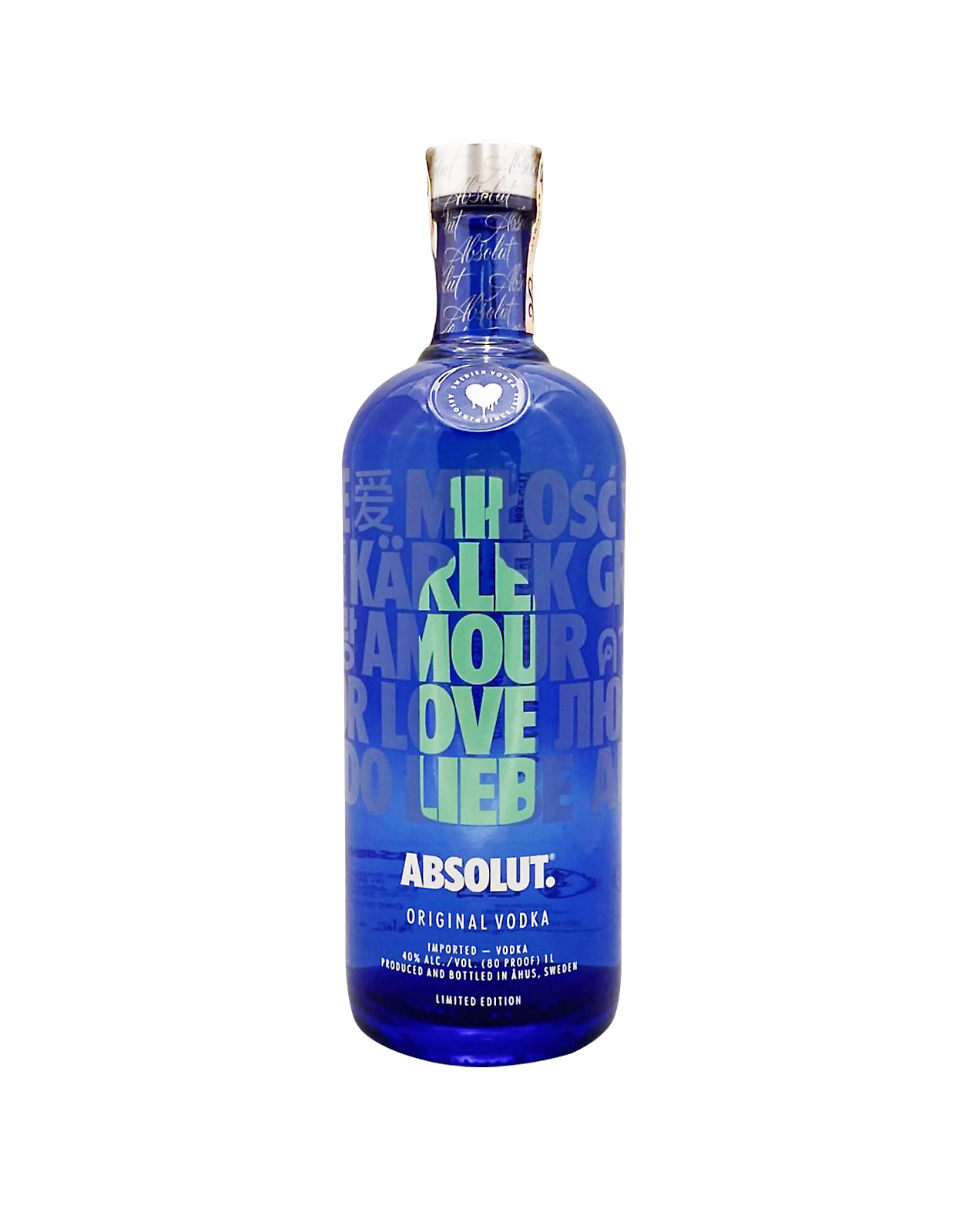 Absolut Drop Of Love 40%, Bottleshop Sunny wines slnecnice mesto, petrzalka, Vodka, rozvoz alkoholu, eshop