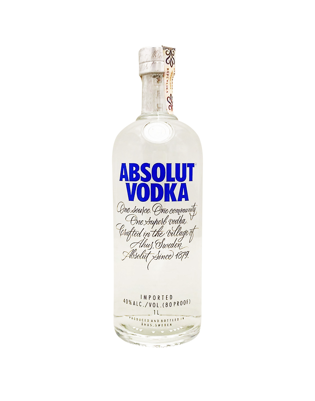 Absolut Vodka 40%, Bottleshop Sunny wines slnecnice mesto, petrzalka, Vodka, rozvoz alkoholu, eshop