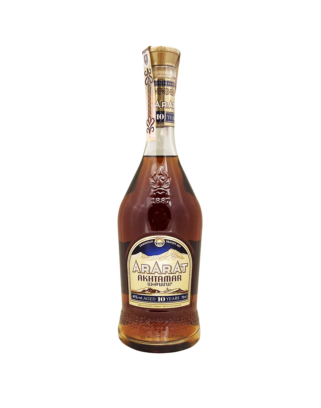 Ararat Akhtamar 10YO 40%, Bottleshop Sunny wines slnecnice mesto, petrzalka, koňak, rozvoz alkoholu, eshop
