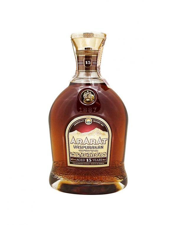 Ararat Vaspurakan 15YO 40%, Bottleshop Sunny wines slnecnice mesto, petrzalka, koňak, rozvoz alkoholu, eshop