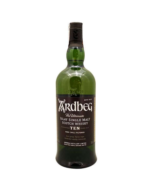 Ardbeg 10 YO 46%, Bottleshop Sunny wines slnecnice mesto, petrzalka, Škótska Whisky, rozvoz alkoholu, eshop