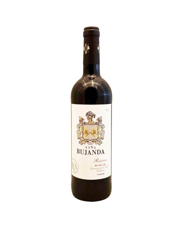 BUJANDA Rioja Reserva 2012, vinotéka Sunny wines Slnečnice Bratislava Petržalka, rozvoz vín, cervene vino zo Spanielska