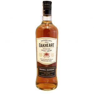 Bacardi Oakheart 35%, Bottleshop Sunny wines slnecnice mesto, petrzalka, rum, rumy, rozvoz alkoholu, eshop
