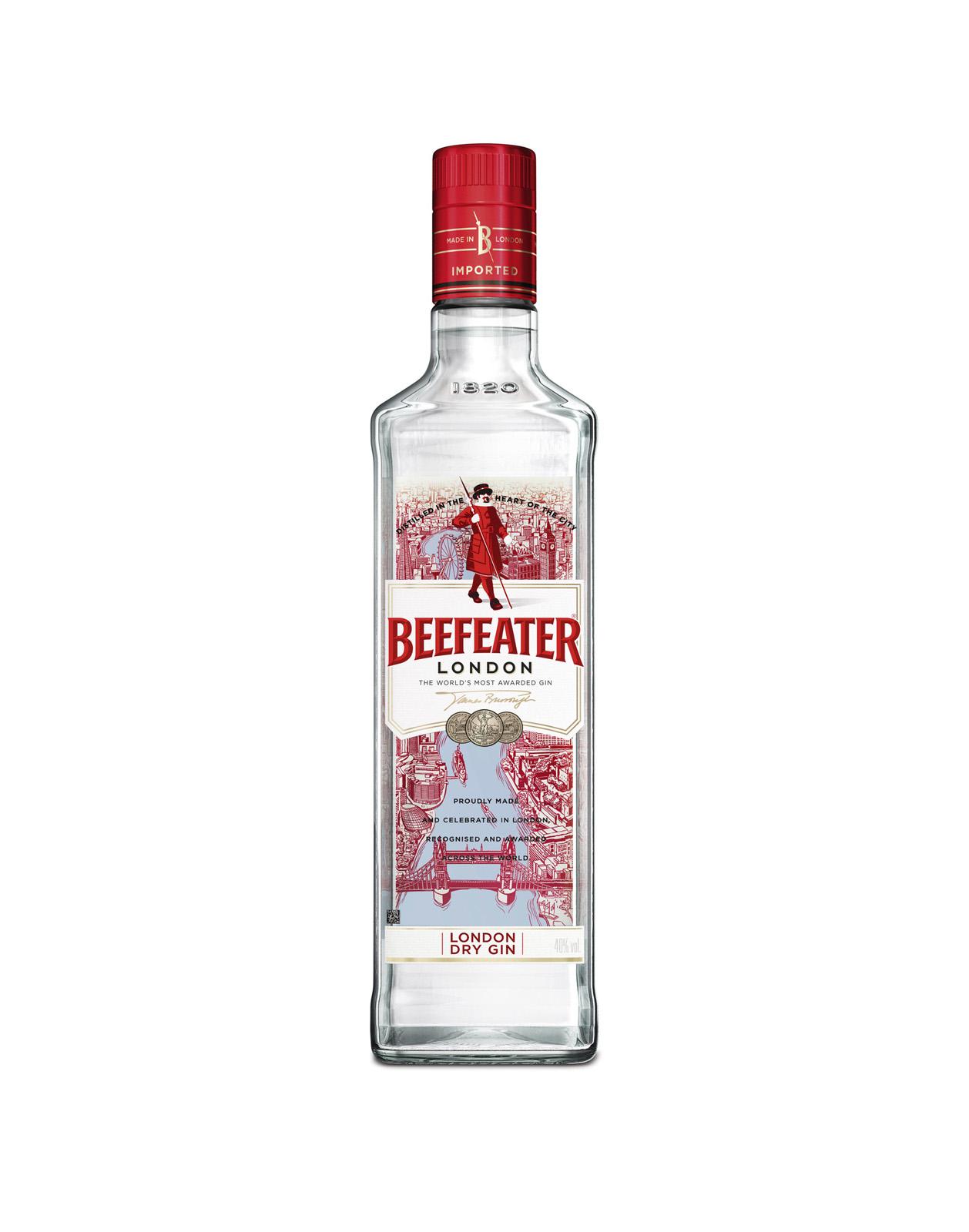 Beefeater Gin 40%, Bottleshop Sunny wines slnecnice mesto, petrzalka, Gin, rozvoz alkoholu, eshop