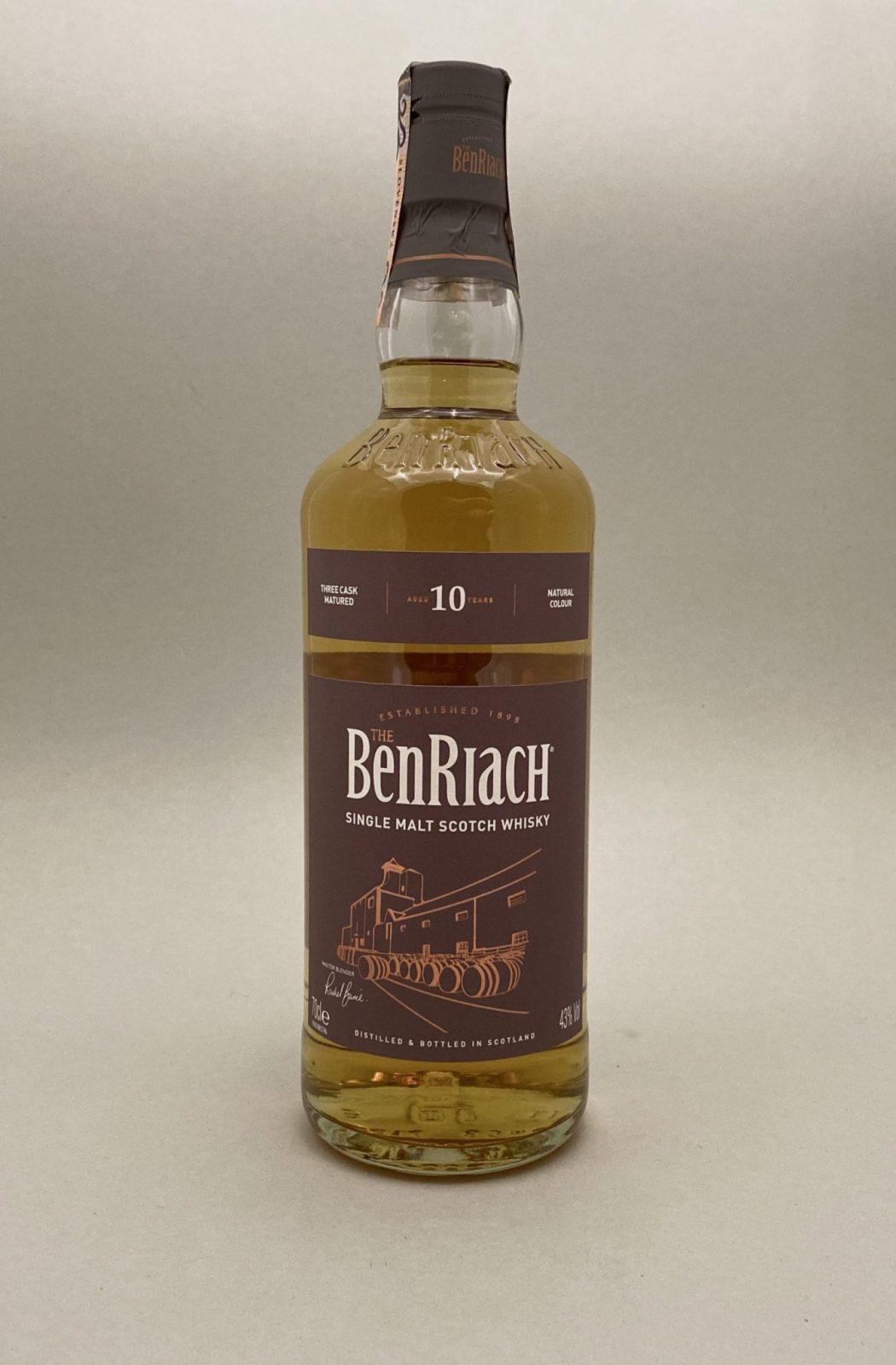 BenRiach 10YO 43%, Bottleshop Sunny wines slnecnice mesto, petrzalka, Škótska Whisky, rozvoz alkoholu, eshop