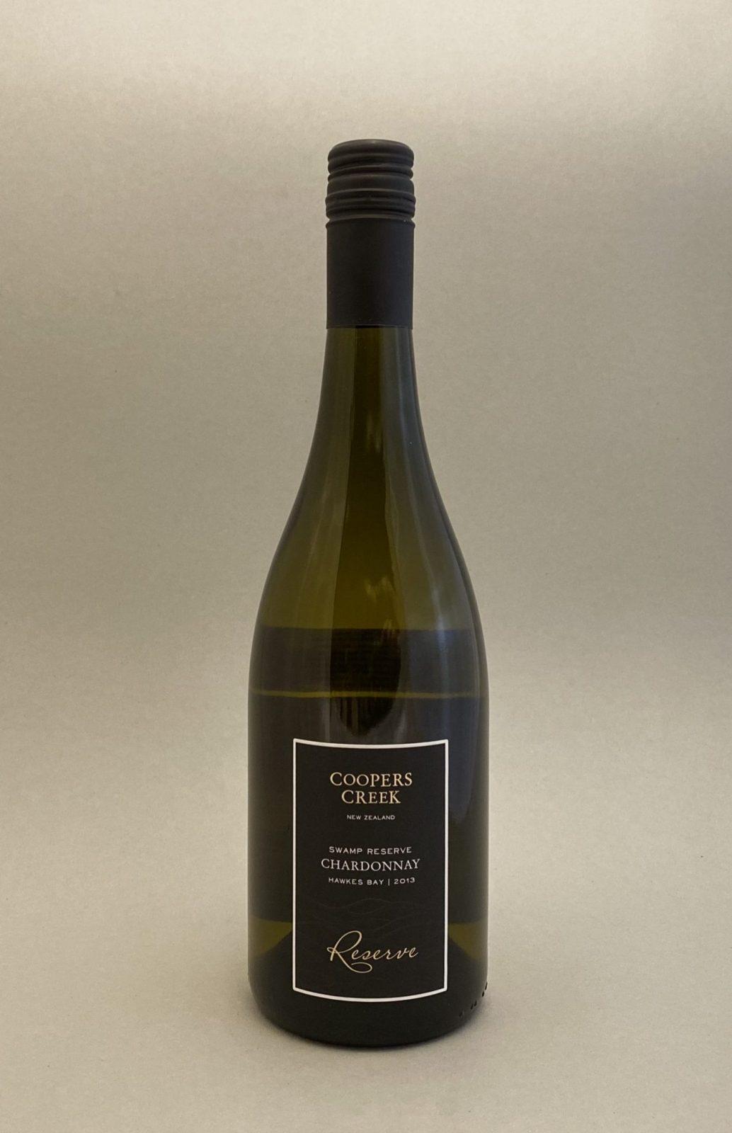 COOPERS CREEK Chardonnay Reserve 2013, vinoteka Bratislava Sunny wines slnecnice mesto, petrzalka, vino biele z Nového Zélandu