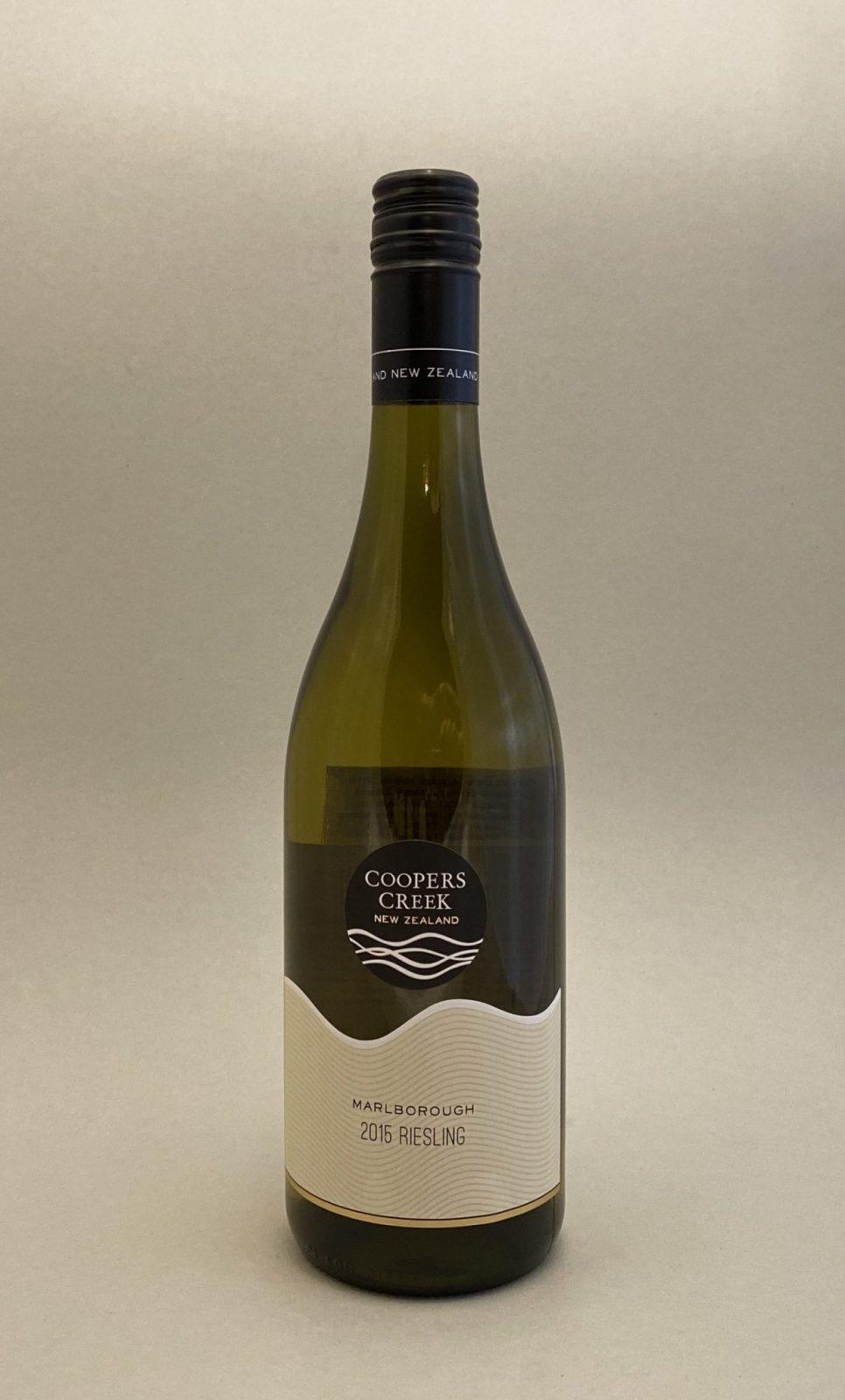 COOPERS CREEK Riesling 2015, vinoteka Sunny wines slnecnice mesto, Bratislava petrzalka, vino biele z Nového Zélandu