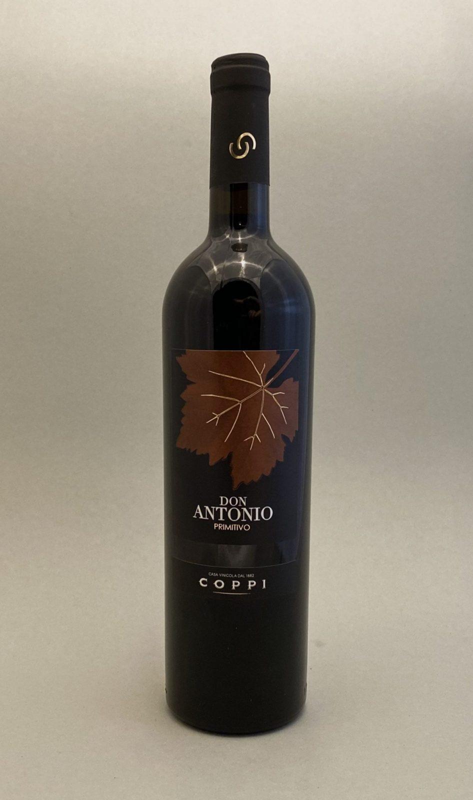 COPPI Don Antonia Primitivo, vinoteka Sunny wines slnecnice mesto, Bratislava petrzalka, vino červené z Talianska, rozvoz vín, eshop