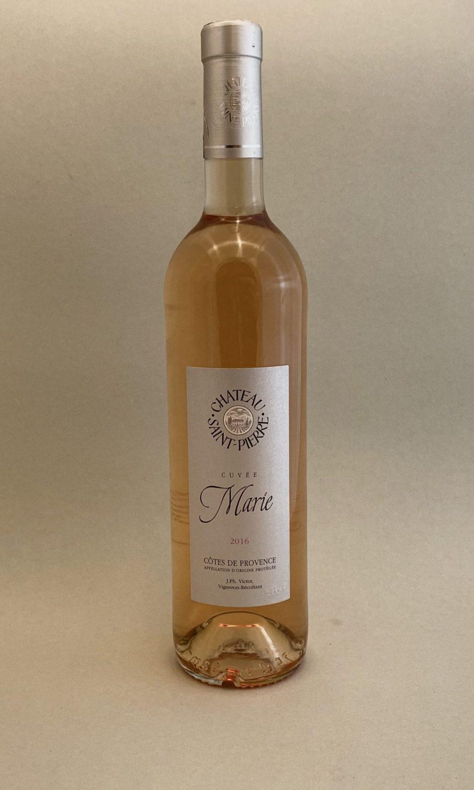 Chahteau SAINT PIERRE Cuveé Marie 2016, vinoteka Bratislava Sunny wines slnecnice mesto, petrzalka, vino ružové z Francúzska