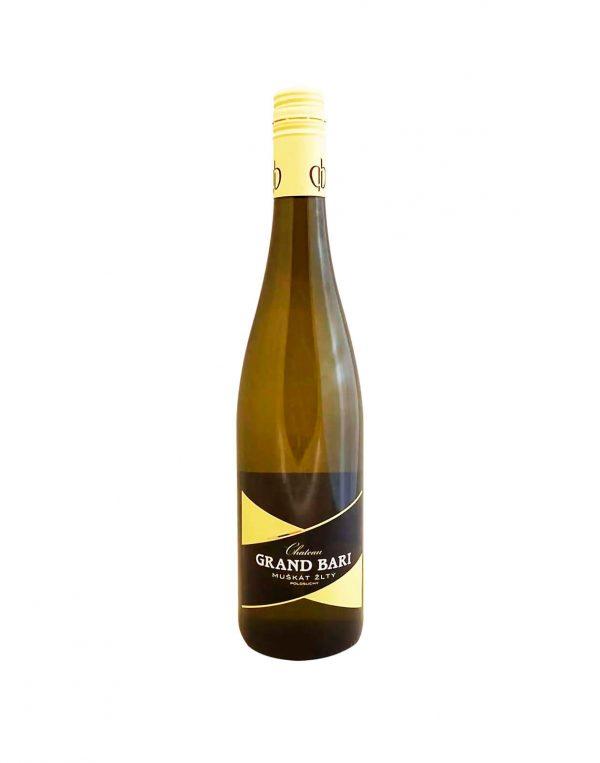 Chateau GRAND BARI Muþkát ªltý, vinotéka v Slnečniciach, slovenské biele víno, Bratislava Petržalka, Sunny Wines