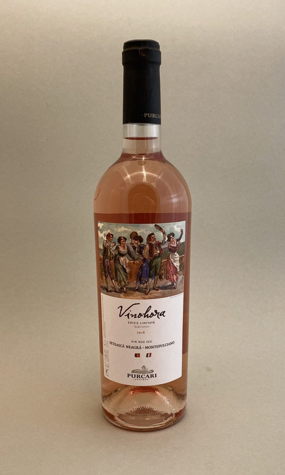 Chateau PURCARI Vinohora Rose 2016, vinoteka Sunny wines slnecnice mesto, Bratislava petrzalka, vino ružové z Moldavska