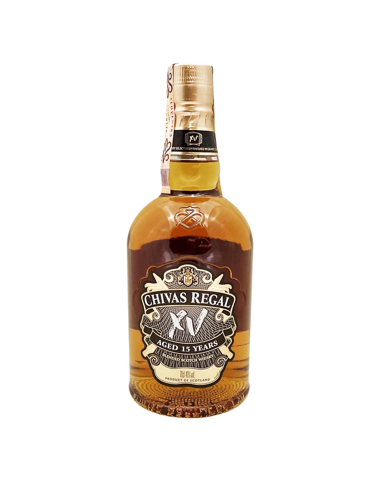 Chivas Regal XV 40%, Bottleshop Sunny wines slnecnice mesto, petrzalka, Škótska Whisky, rozvoz alkoholu, eshop