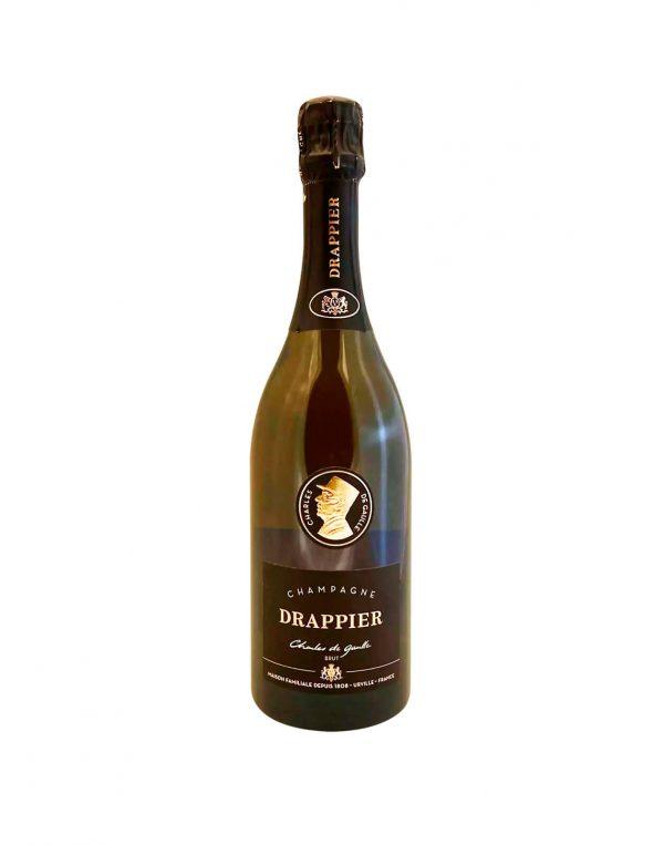 DRAPPIER Charles De Gaulle Champagne Brut, Bublinkove vino, vinotéka Bratislava Slnecnice, Sunnywines, rozvoz vina, winebar, Pripime si štýlovo na nový rok 2021, čo sa hodí na nezabudnuteľný prípitok, vinoteka Sunnywines, Champagne, šampanské