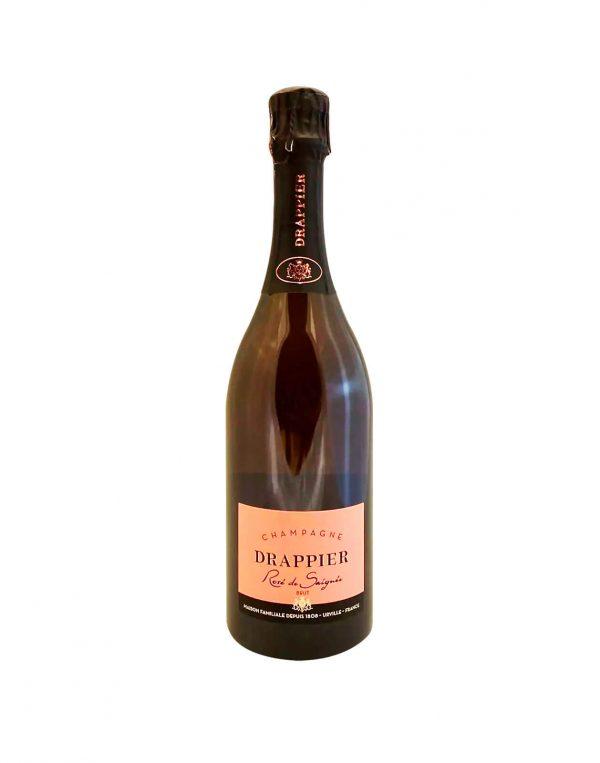 DRAPPIER Rosé Champagne Brut, Bublinkove vino, vinotéka Bratislava Slnecnice, Sunnywines, rozvoz vina, winebar, Pripime si štýlovo na nový rok 2021, čo sa hodí na nezabudnuteľný prípitok, vinoteka Sunnywines, Champagne, šampanské