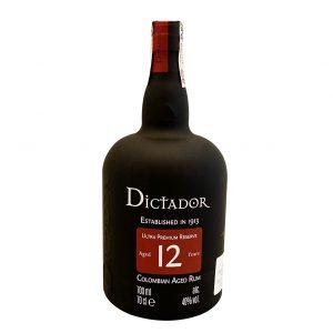 Dictator 12 YO 40%, Bottleshop Sunny wines slnecnice mesto, petrzalka, rum, rumy, rozvoz alkoholu, eshop