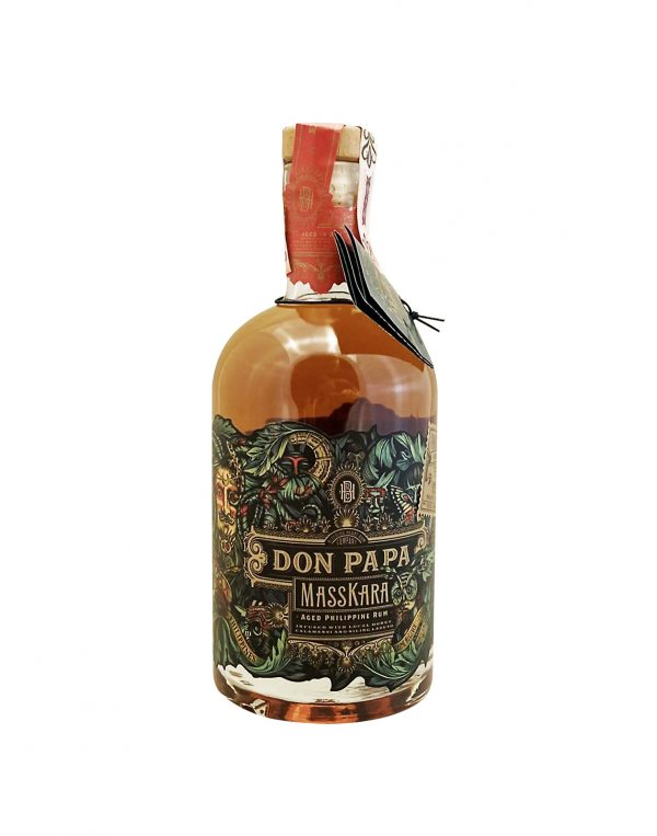 Don Papa Massakra Limited Edition 40%, Bottleshop Sunny wines slnecnice mesto, petrzalka, rum, rumy, rozvoz alkoholu, eshop