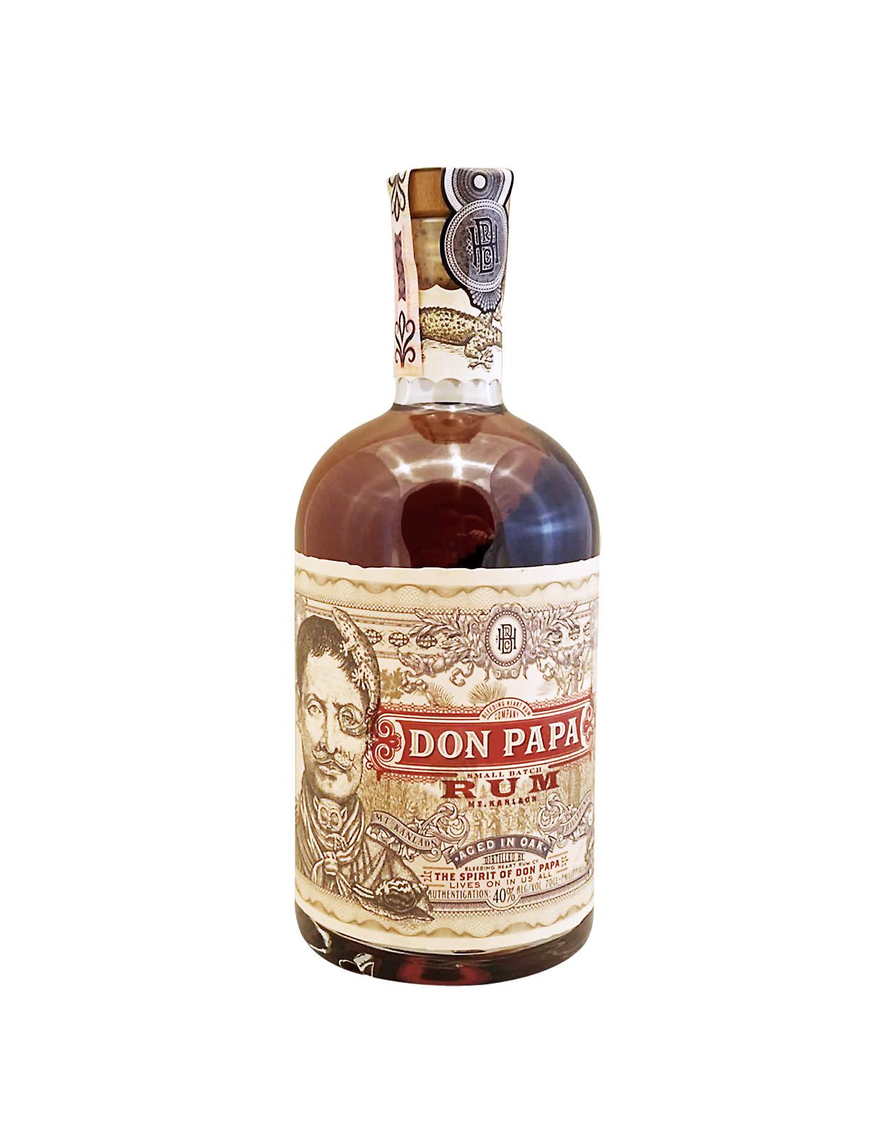 Don Papa Rum 40%, Bottleshop Sunny wines slnecnice mesto, petrzalka, rum, rumy, rozvoz alkoholu, eshop