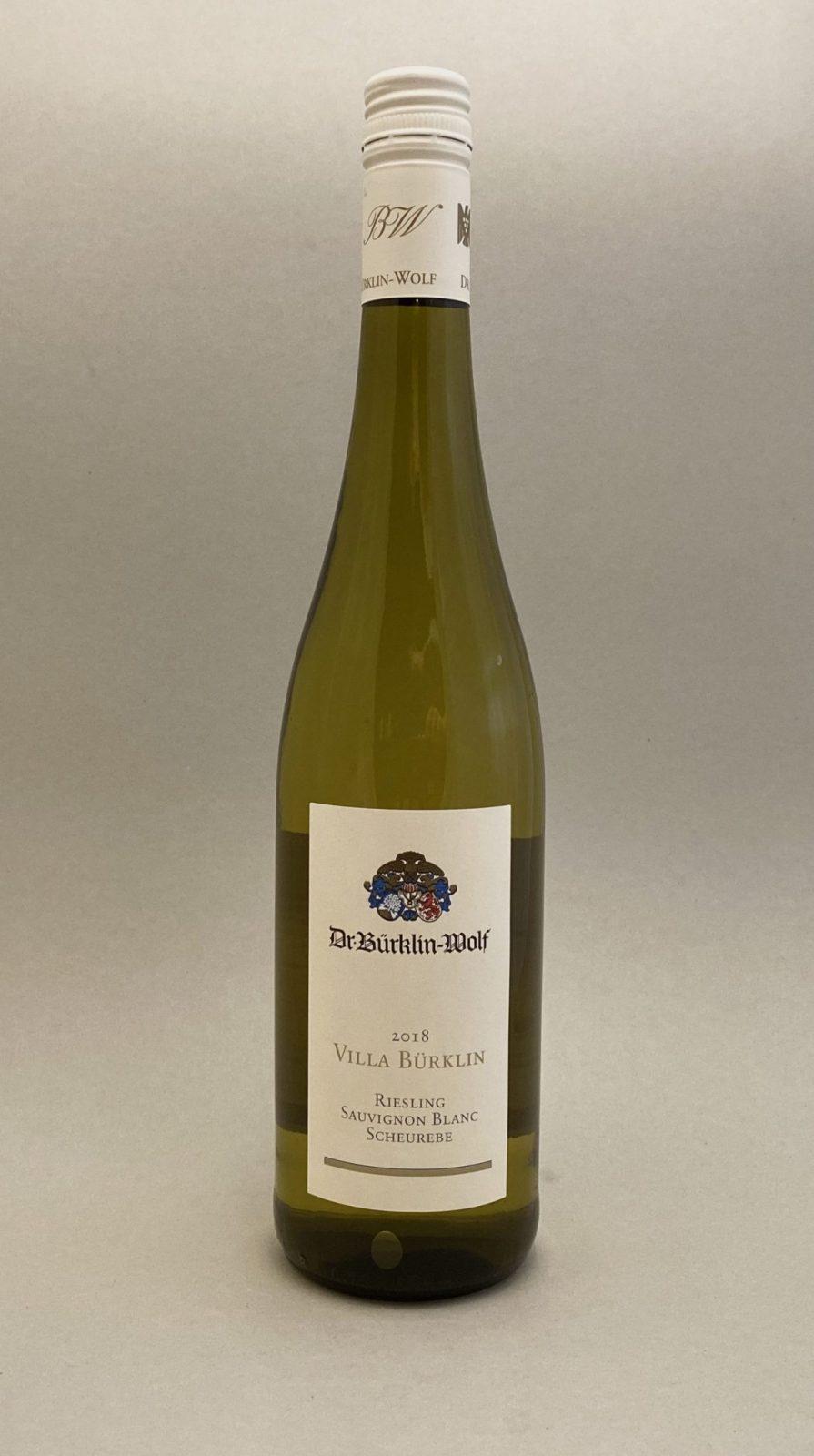 Dr. BURKLIN WOLF Villa Burklin 2018, vinoteka Bratislava Sunny wines slnecnice mesto, petrzalka, vino biele z Nemecka