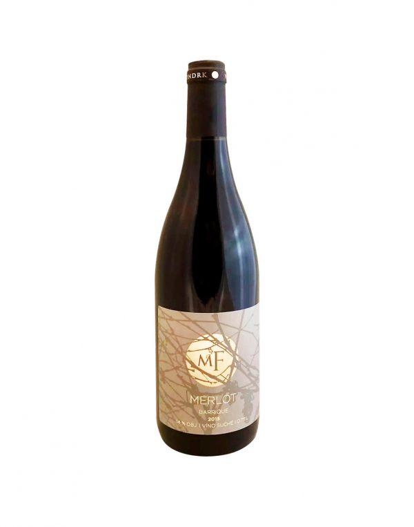 FONDRK VINÁRSTVO Merlot 2015, vinotéka v Slnečniciach, slovenské červené víno, Bratislava Petržalka, Sunny Wines