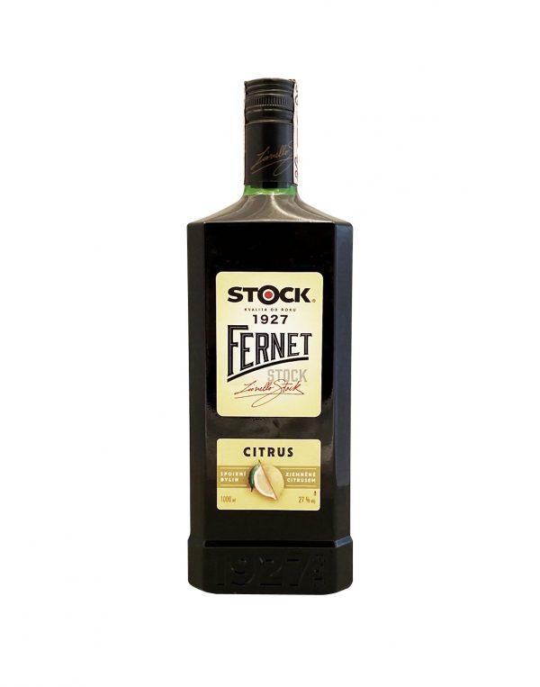 Fernet Stock Citrus 27%, Bottleshop Sunny wines slnecnice mesto, petrzalka, likér, rozvoz alkoholu, eshop