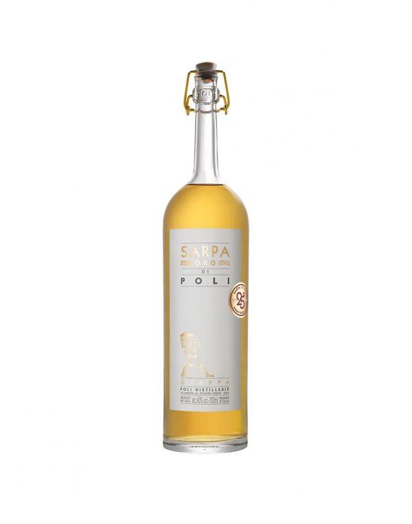 Grappa Sarpa Di Poli Oro Barrique 40%, Bottleshop Sunny wines slnecnice mesto, petrzalka, Brandy, rozvoz alkoholu, eshop