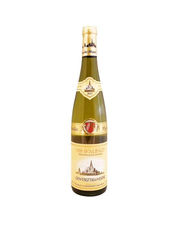 HUNAWIHR Vin D'Alsace Gewurtztraminer 2017, vinoteka Bratislava slnecnice mesto, petrzalka, vino biele z Francúzska