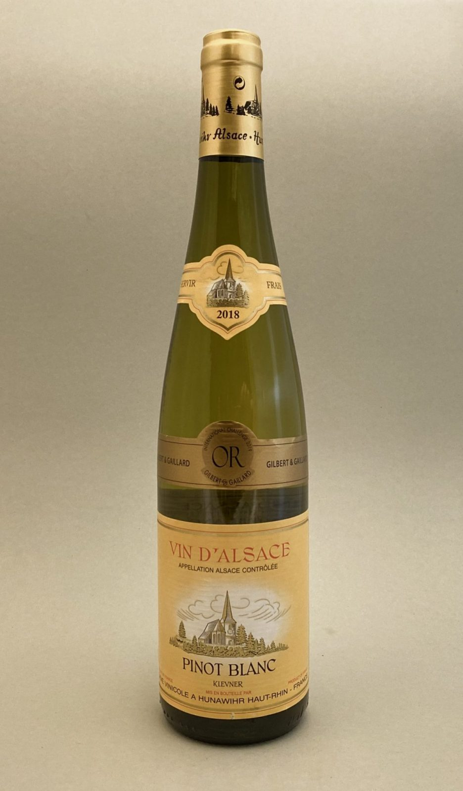 HUNAWIHR Vin D'Alsace Pinot Blanc 2018, vinoteka Bratislava slnecnice mesto, petrzalka, vino biele z Francúzska