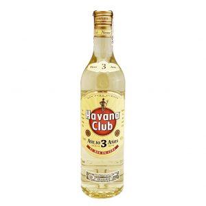 Havana Club 3 YO 40%, Bottleshop Sunny wines slnecnice mesto, petrzalka, rum, rozvoz alkoholu, eshop
