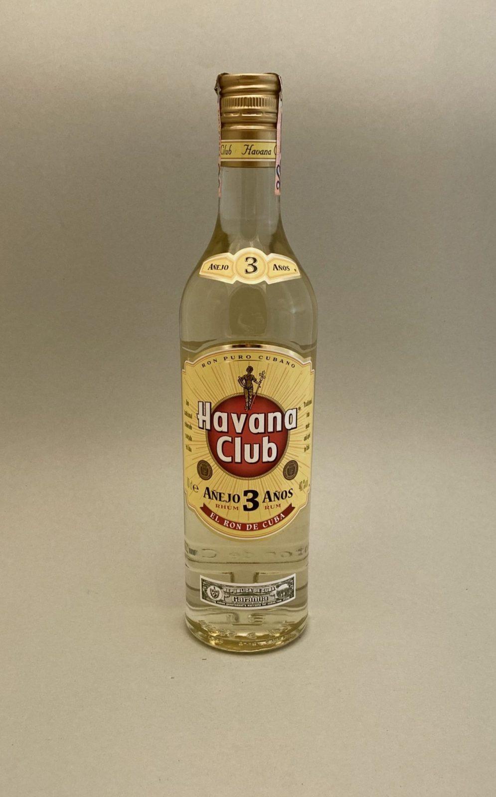 Havana Club 3YO 40%, Bottleshop Sunny wines slnecnice mesto, petrzalka, rum, rozvoz alkoholu, eshop