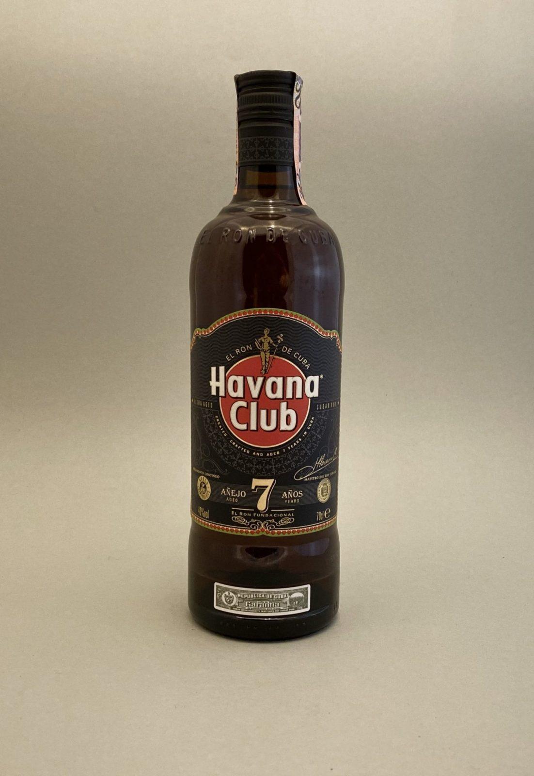 Havana Club 7 YO 40%, Bottleshop Sunny wines slnecnice mesto, petrzalka, rum, rumy, rozvoz alkoholu, eshop