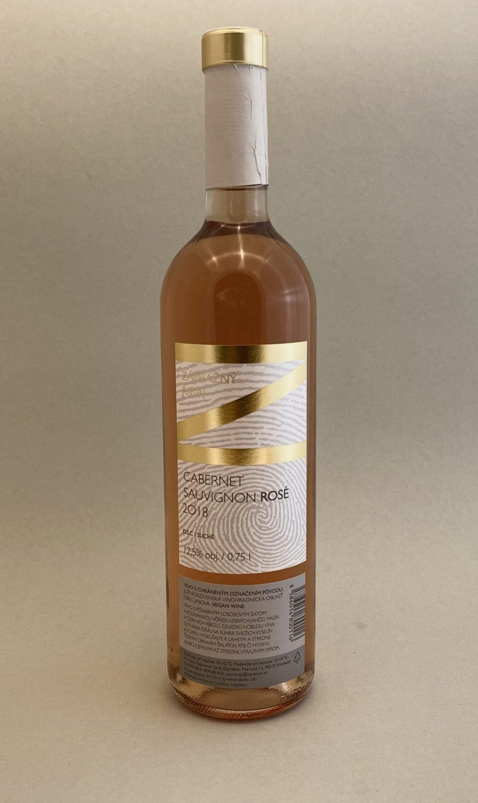 JURAJ ZÁPRAŽNÝ Sauvignon Rosé 2018, vinotéka v Slnečniciach, slovenské ružové víno, Bratislava Petržalka, Sunny Wines