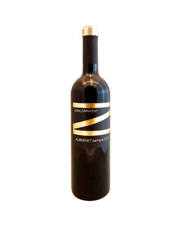JURAJ ZÁPRAŽNÝ Alibernet Barrique 2017, vinotéka v Slnečniciach, slovenské červené víno, Bratislava Petržalka, Sunny Wines