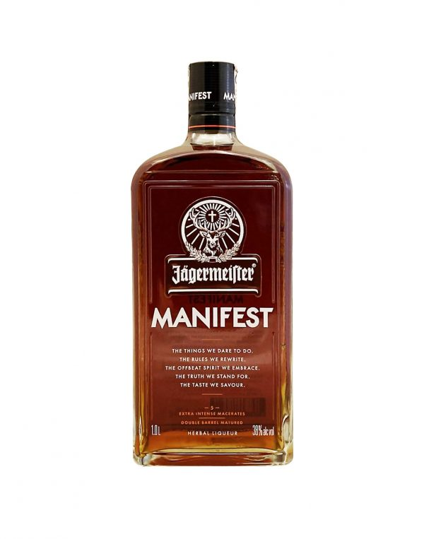 Jägermaister Manifest 38%, Bottleshop Sunny wines slnecnice mesto, petrzalka, likér, rozvoz alkoholu, eshop