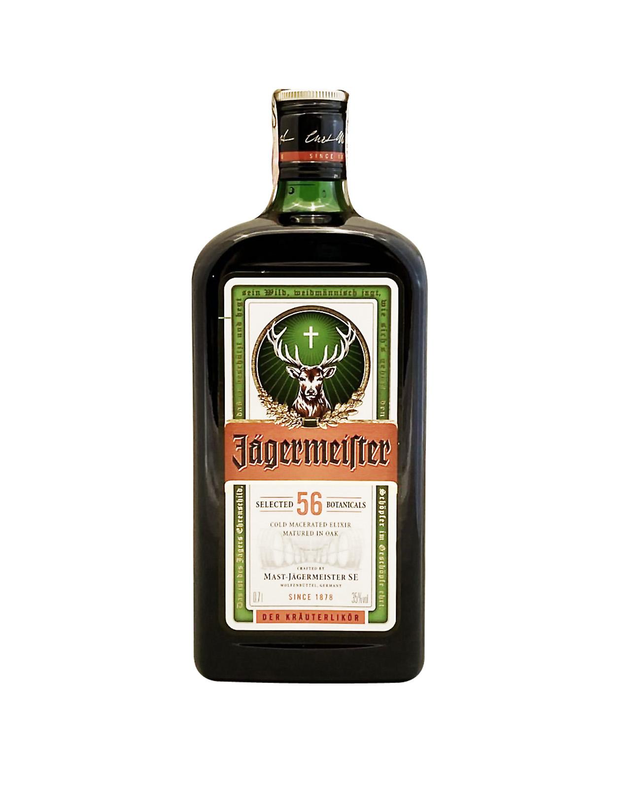 Jägermaister 35%, Bottleshop Sunny wines slnecnice mesto, petrzalka, likér, rozvoz alkoholu, eshop