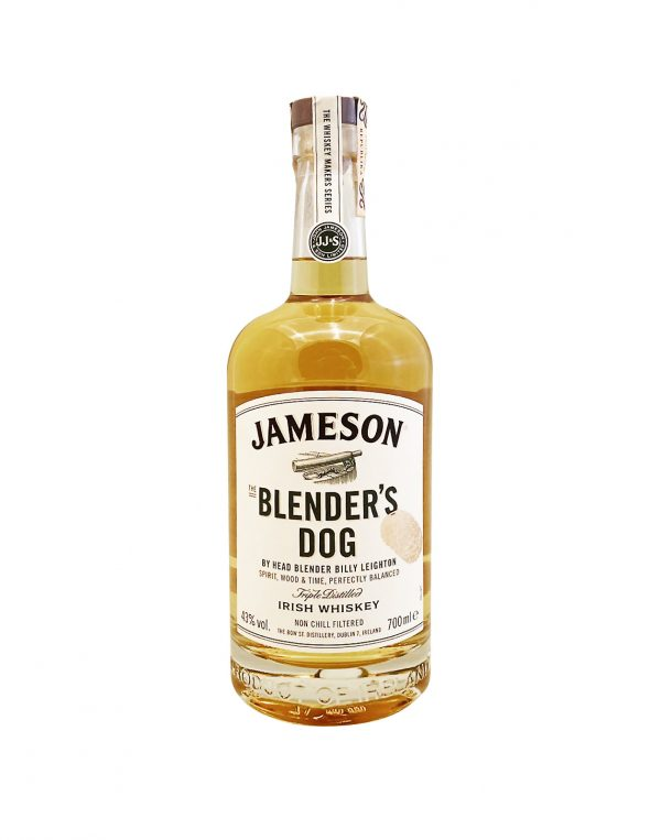 Jameson Makers Blender's Dog 43%, Bottleshop Sunny wines slnecnice mesto, petrzalka, Írska Whiskey, rozvoz alkoholu, eshop
