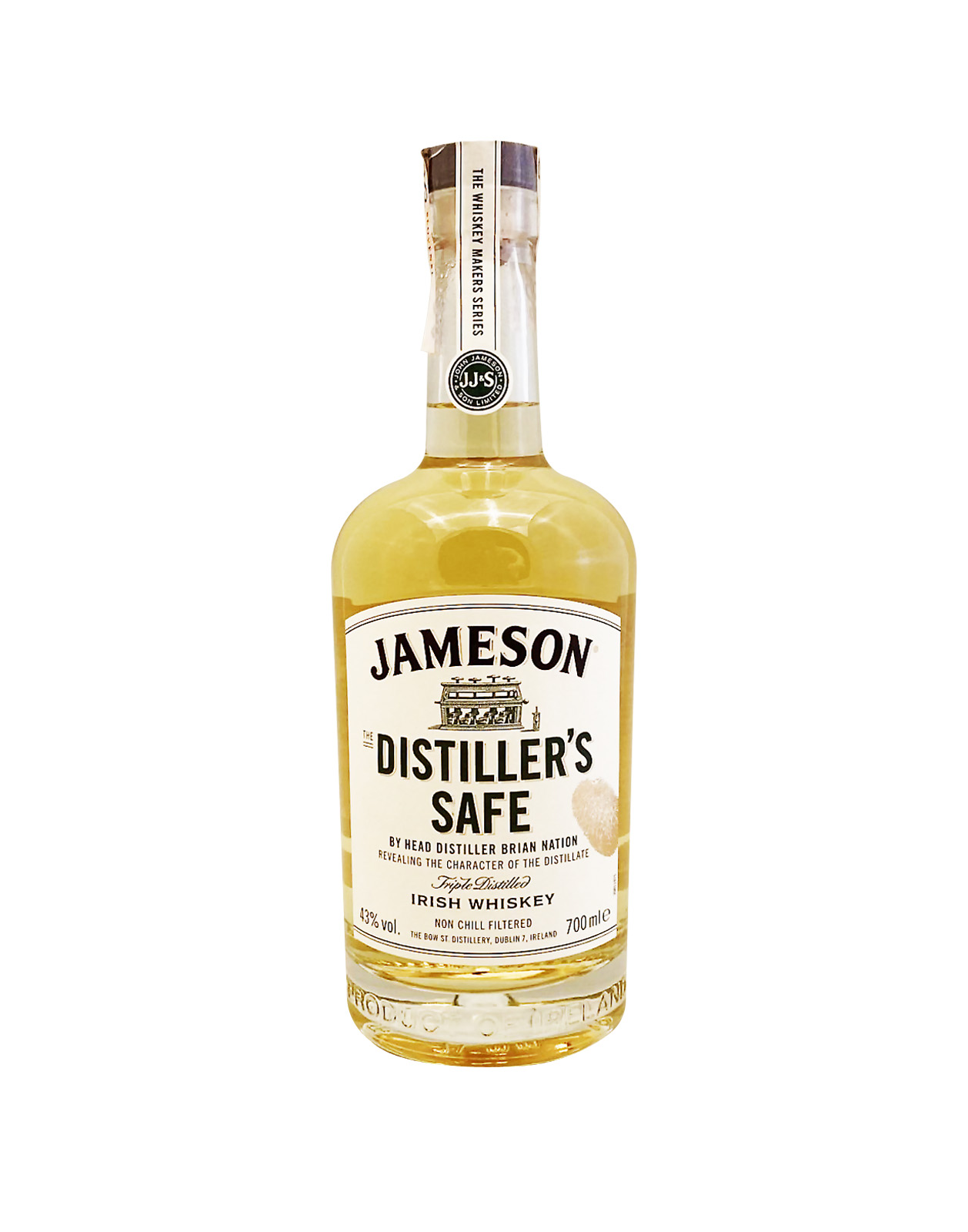 Jameson Makers Distillers Safe 43%, Bottleshop Sunny wines slnecnice mesto, petrzalka, Írska Whiskey, rozvoz alkoholu, eshop