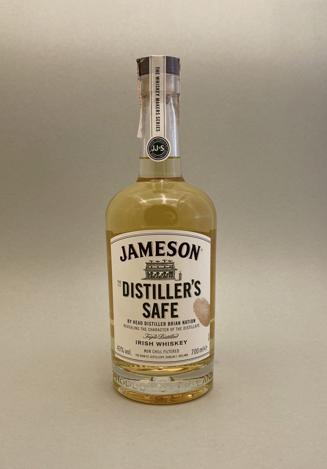 Jameson Makers Distillers Safe 43%, Bottleshop Sunny wines slnecnice mesto, petrzalka, Írska Whiskey, rozvoz alkoholu, eshop