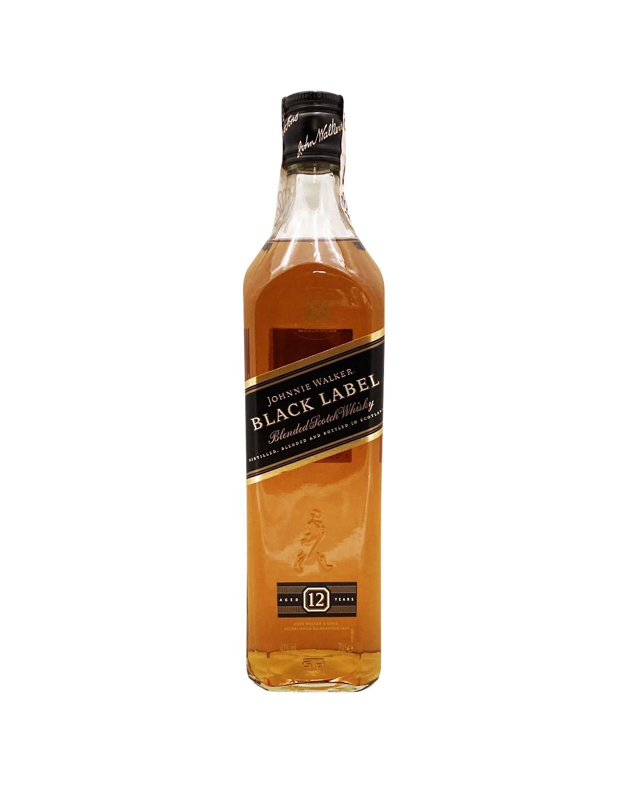 Johnnie Walker Black Label 12YO 40%, Bottleshop Sunny wines slnecnice mesto, petrzalka, Škótska Whisky, rozvoz alkoholu, eshop