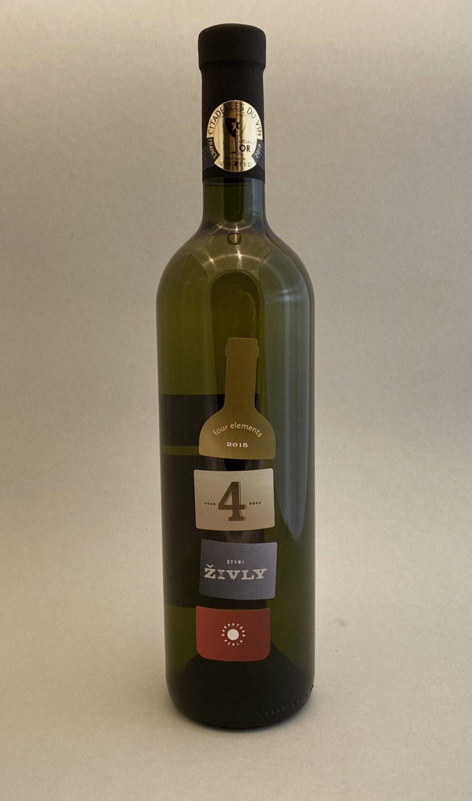 KARPATSKÁ PERLA 4 ªivly, vinotéka v Slnečniciach, slovenské biele víno, Bratislava Petržalka, Sunny Wines