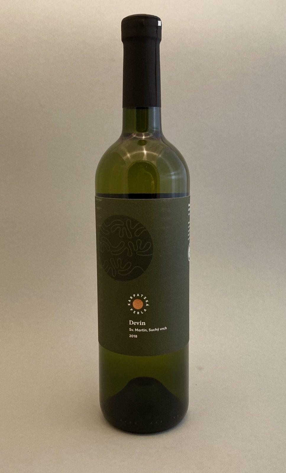 KARPATSKÁ PERLA Devín 2018, vinotéka v Slnečniciach, slovenské biele víno, Bratislava Petržalka, Sunny Wines