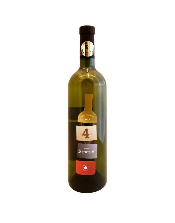 KARPATSKÁ PERLA 4 zivly, vinotéka v Slnečniciach, slovenské biele víno, Bratislava Petržalka, Sunny Wines